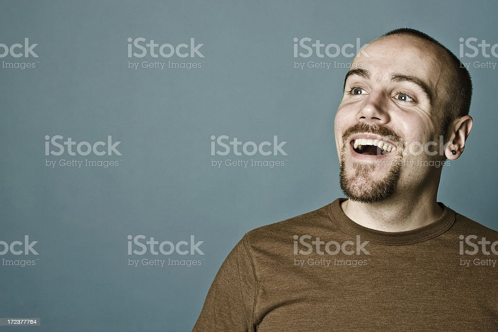 Happy Smiling Young Adult stock photo