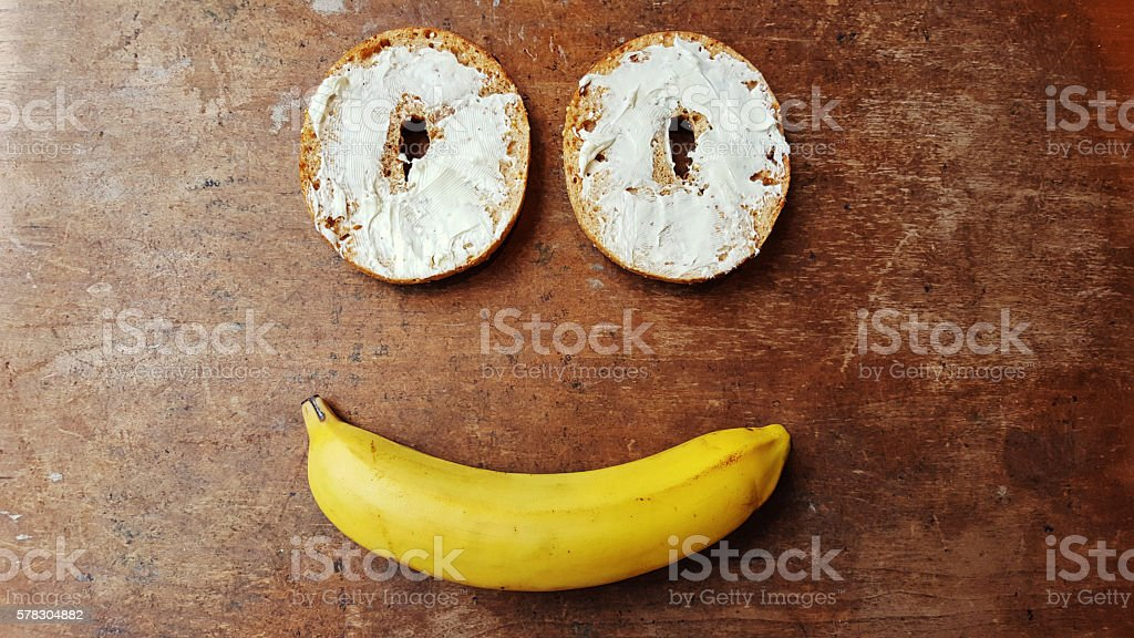 Happy Snack stock photo