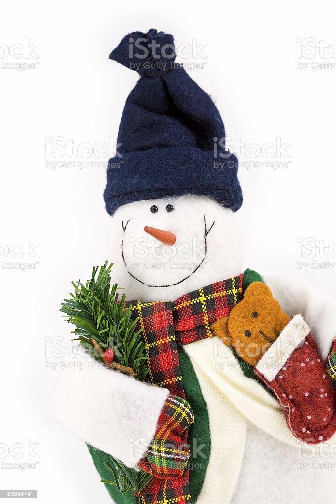 Happy Snowman 2 royalty-free stock photo