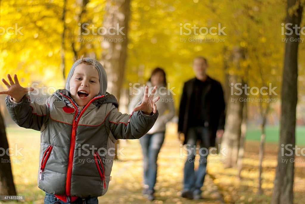 Happy son royalty-free stock photo