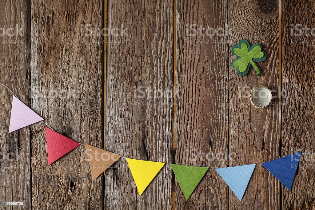 Happy St. Patrick's Day stock photo