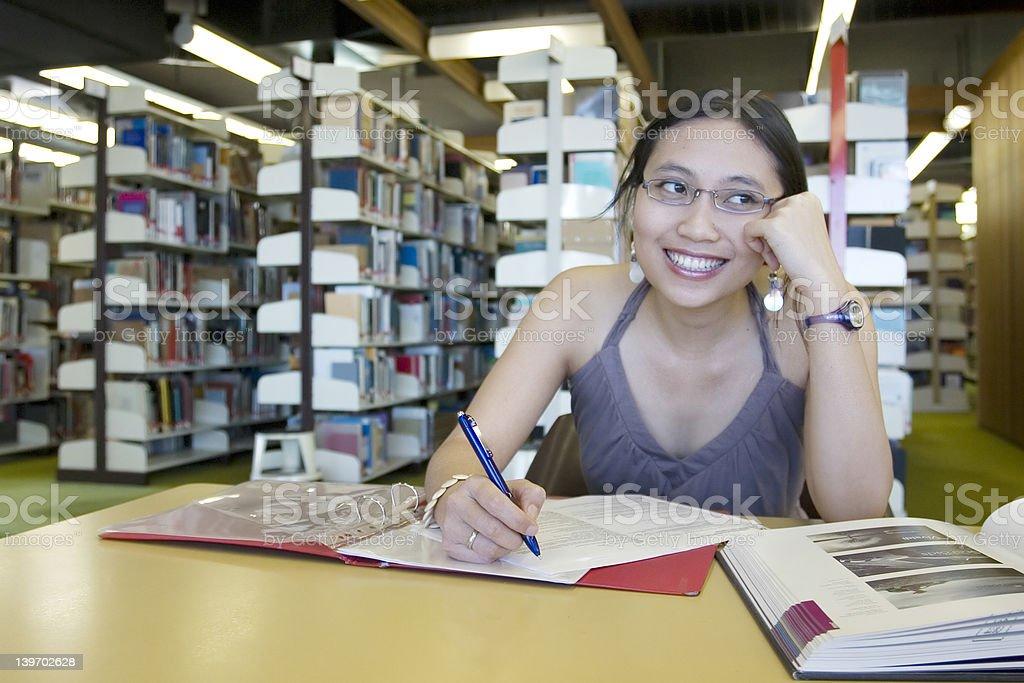 Happy Student royalty-free stock photo