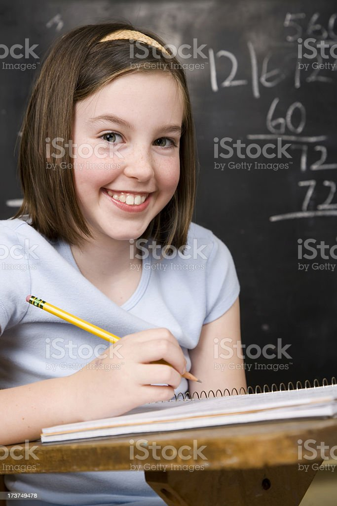 Happy student royalty-free stock photo