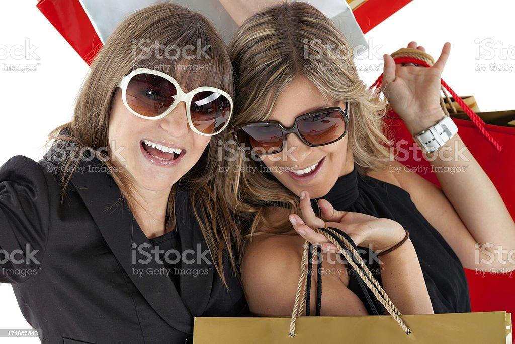 happy summer shopping royalty-free stock photo