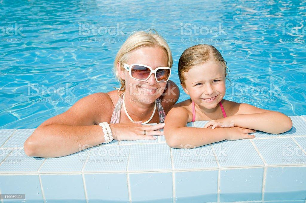 Happy summer vacation stock photo