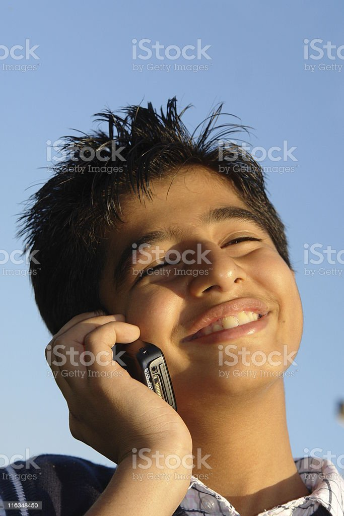 Happy talk royalty-free stock photo