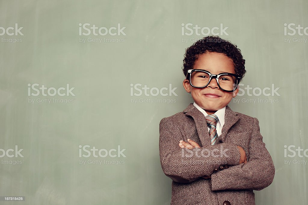 Happy Teacher stock photo