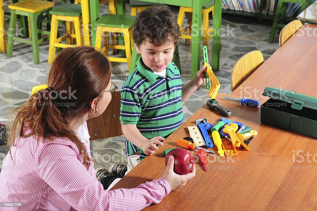 Happy teaching and studying. Series, see more... stock photo