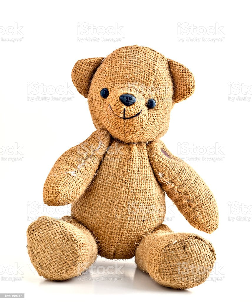 Happy Teddy Bear royalty-free stock photo