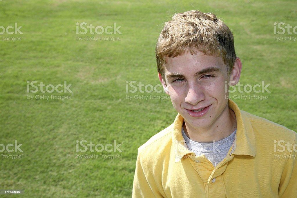 Happy Teen royalty-free stock photo