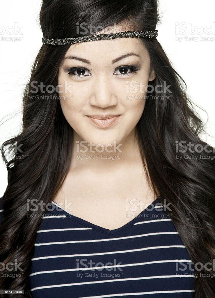 Adolescente feliz foto de stock libre de derechos