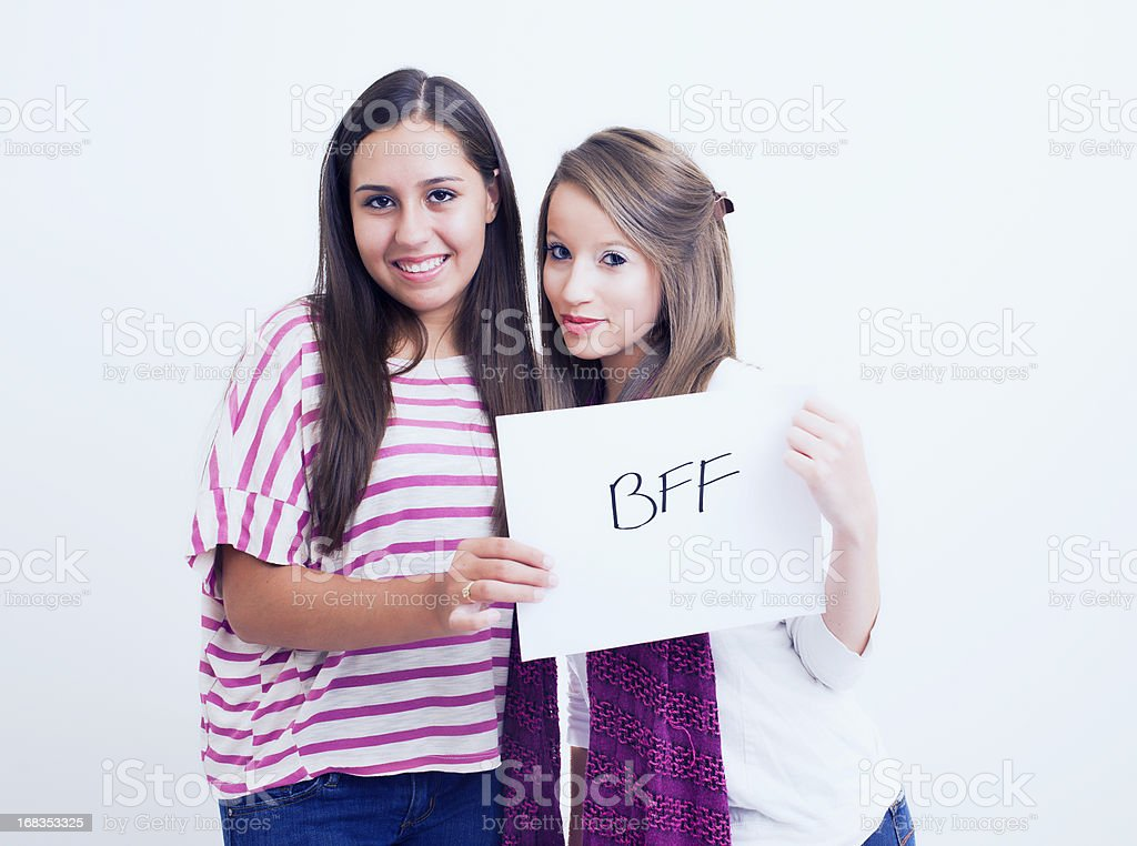 Happy Teenagers, Friendship royalty-free stock photo