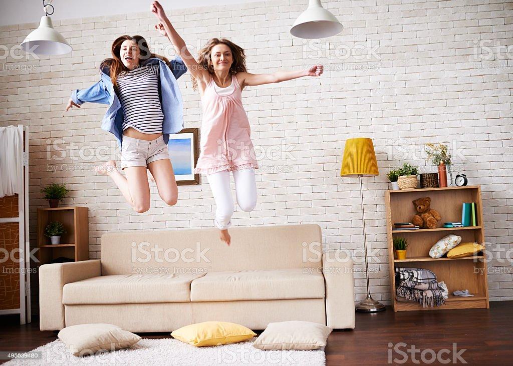 Happy time stock photo