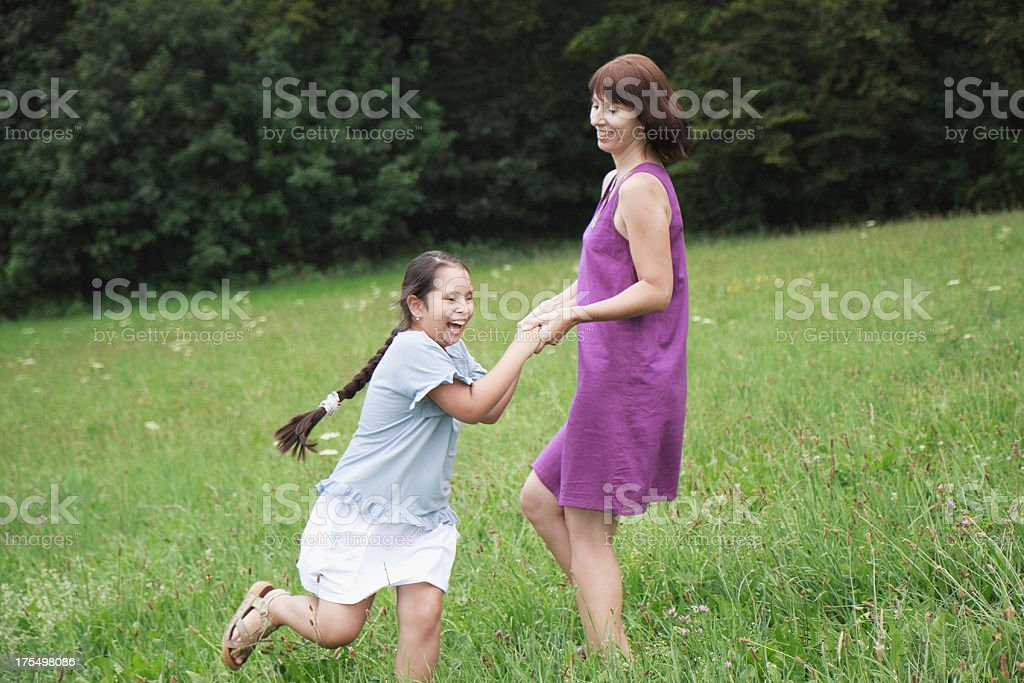happy time together stock photo
