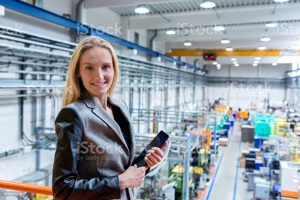 Happy to being manager! stock photo