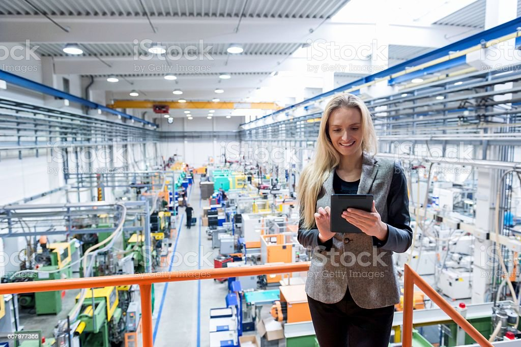 Happy to being professional! stock photo