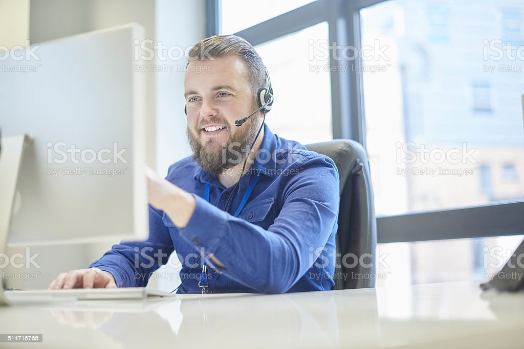 happy to help stock photo