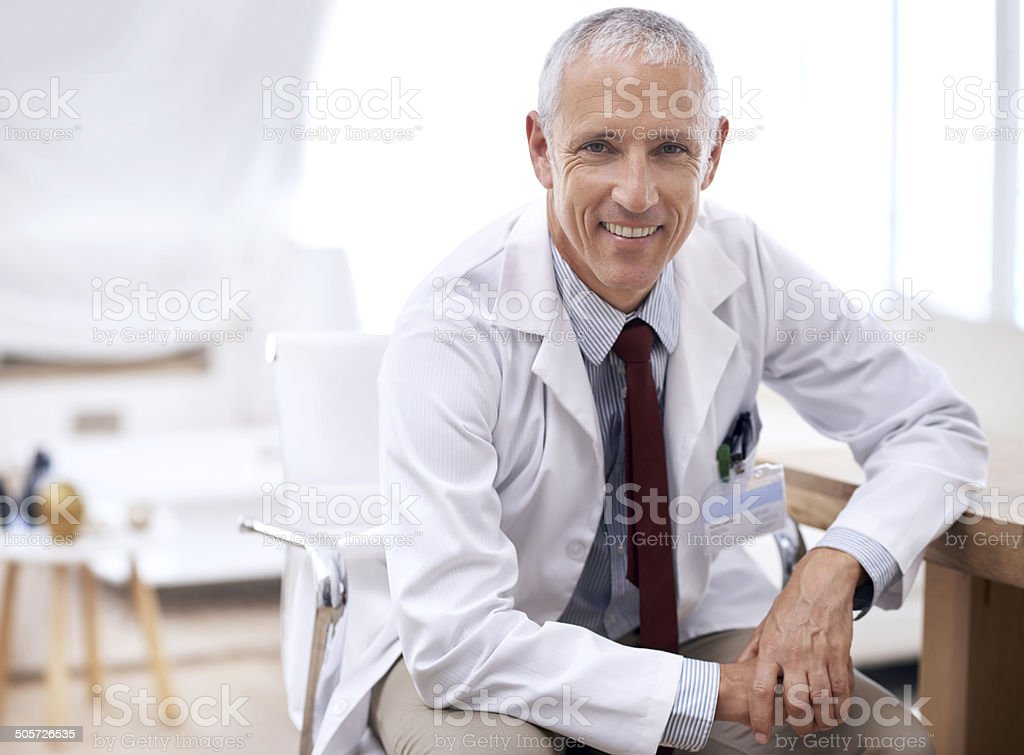 Happy to help you heal stock photo