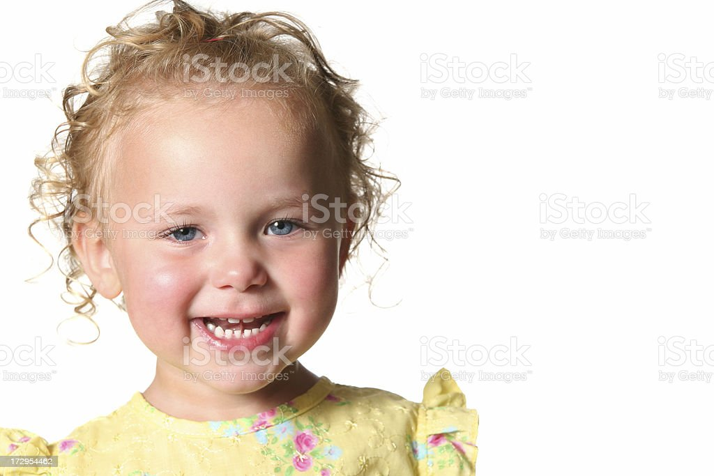 Happy Toddler royalty-free stock photo