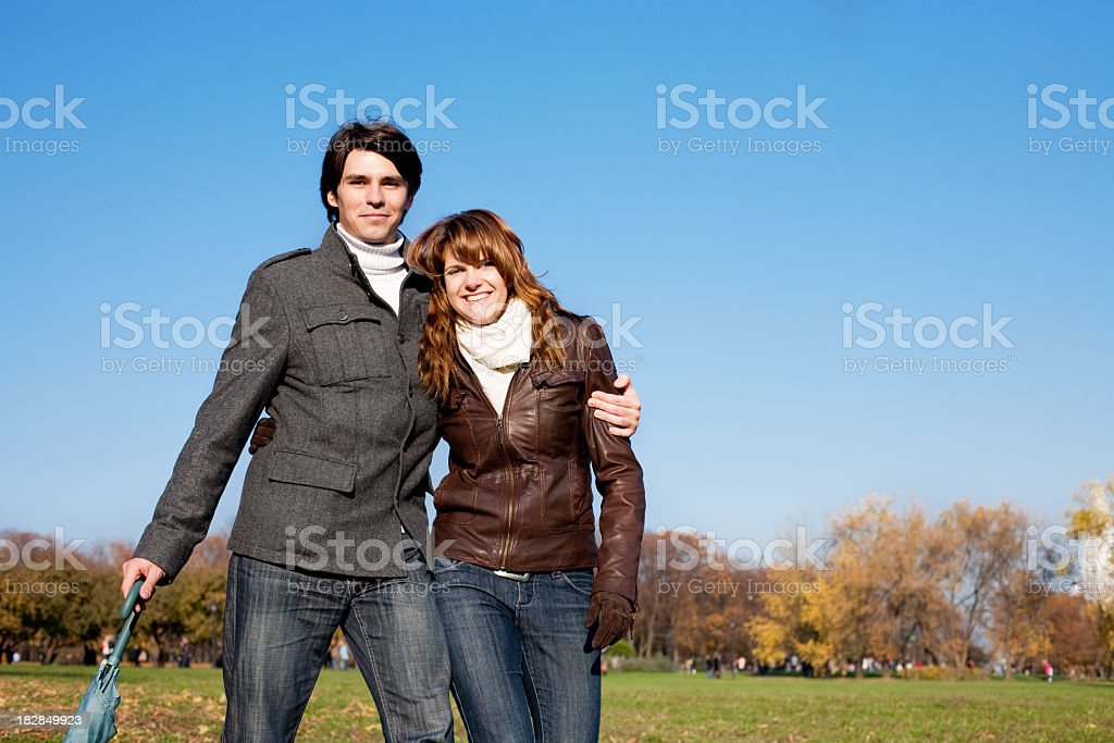 Happy together royalty-free stock photo