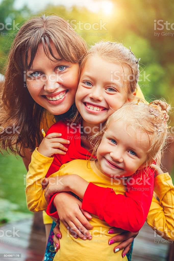 Happy together stock photo