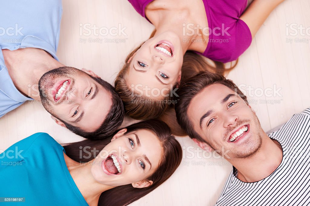Happy together. stock photo