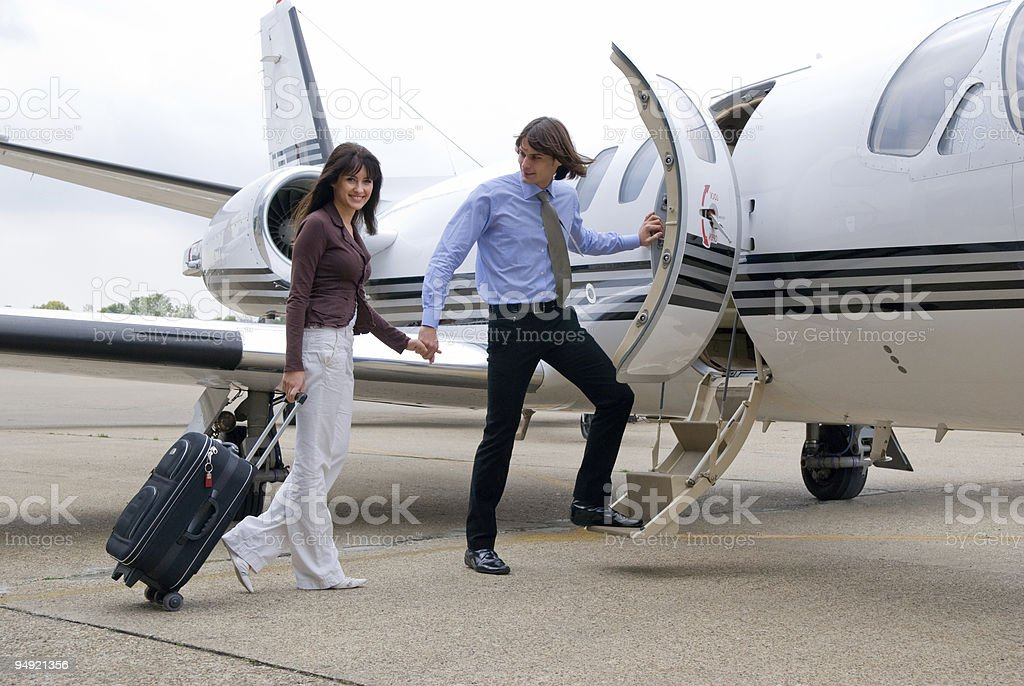 Happy travel royalty-free stock photo