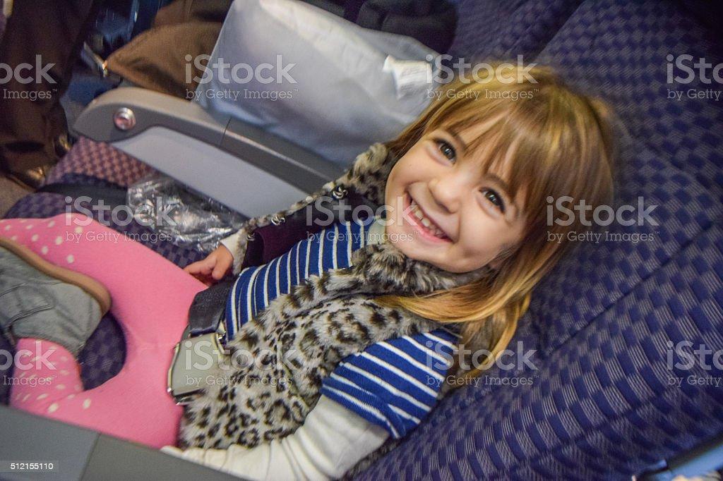 Happy Traveler stock photo