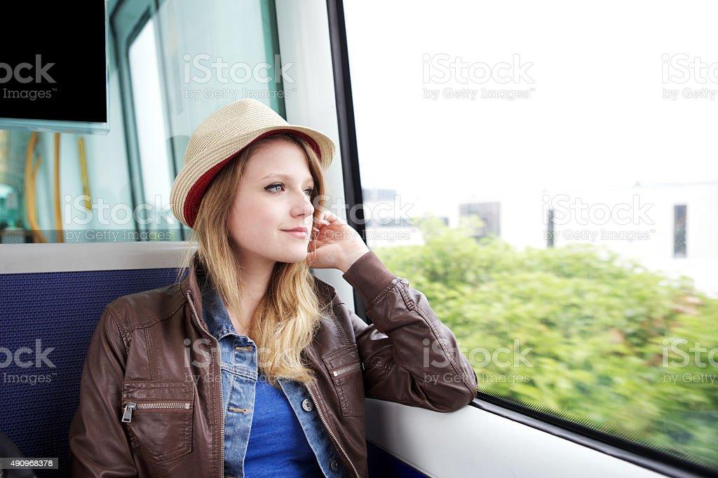 happy travels stock photo