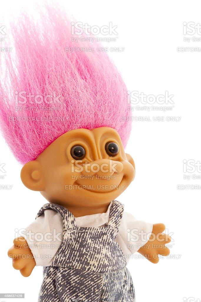 Happy Troll stock photo