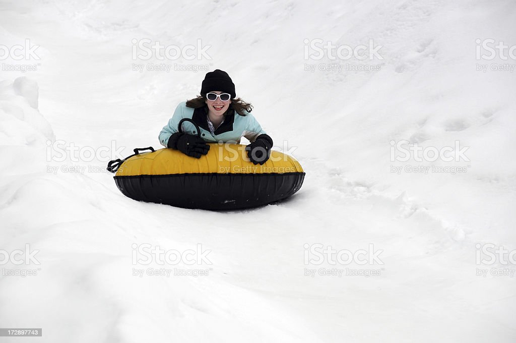 Happy Tuber royalty-free stock photo