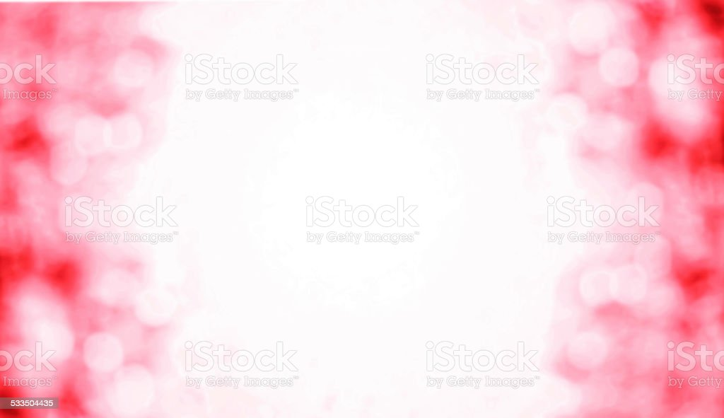 Happy Valentine's day Abstract   Defocused Bokeh twinkling light stock photo