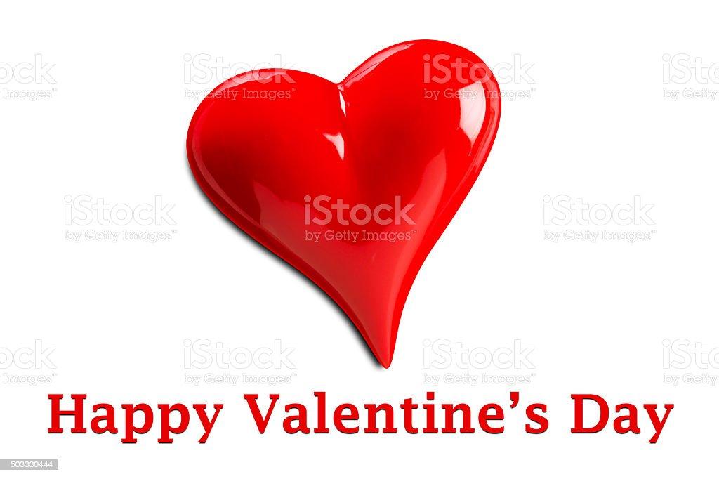 Happy Valentine's Day stock photo