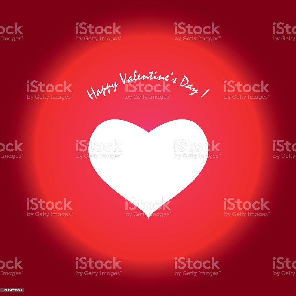 Happy valentine's day ! stock photo