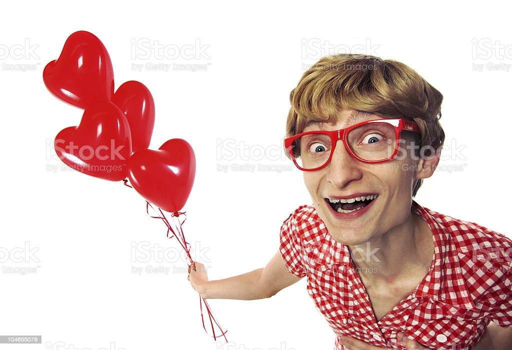 Happy Valentine's! royalty-free stock photo