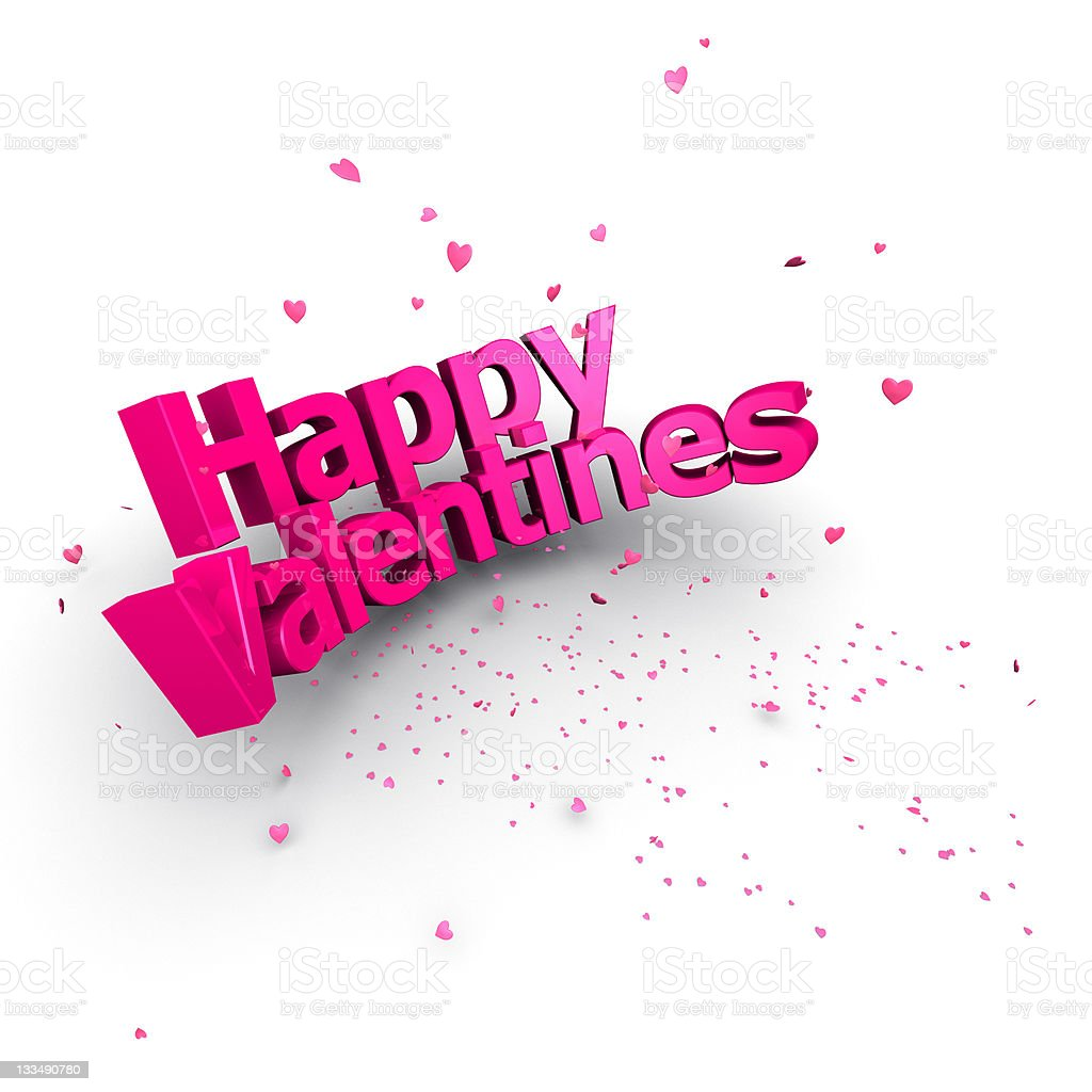 Happy Valentines (XXXL) royalty-free stock photo