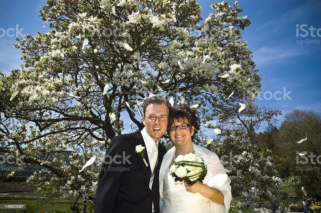 Happy Wedding Day royalty-free stock photo