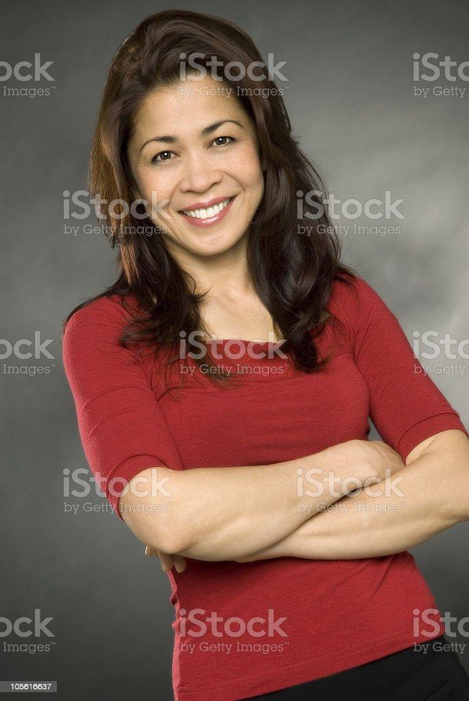 Mujer feliz foto de stock libre de derechos