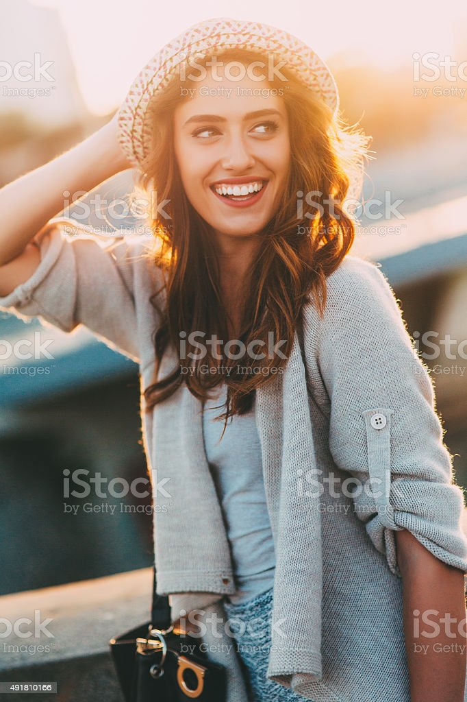 Happy Woman stock photo