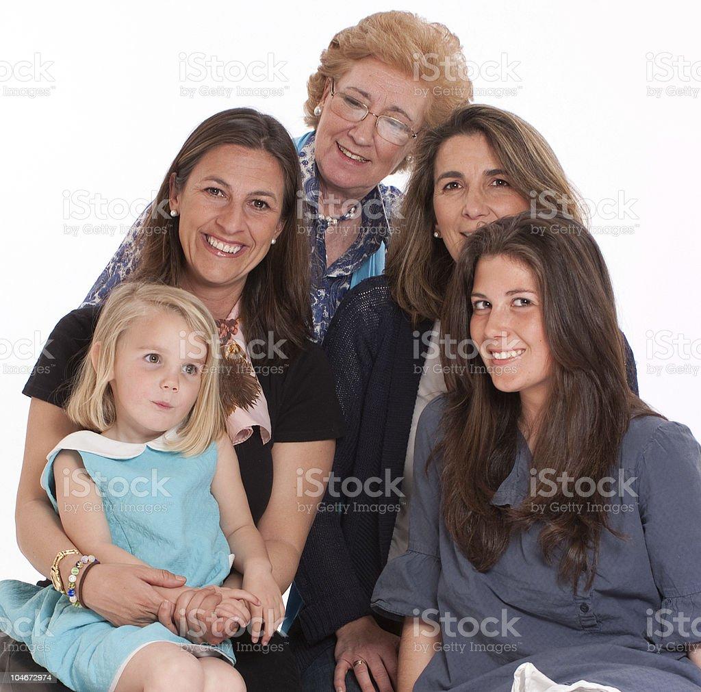 Happy women royalty-free stock photo