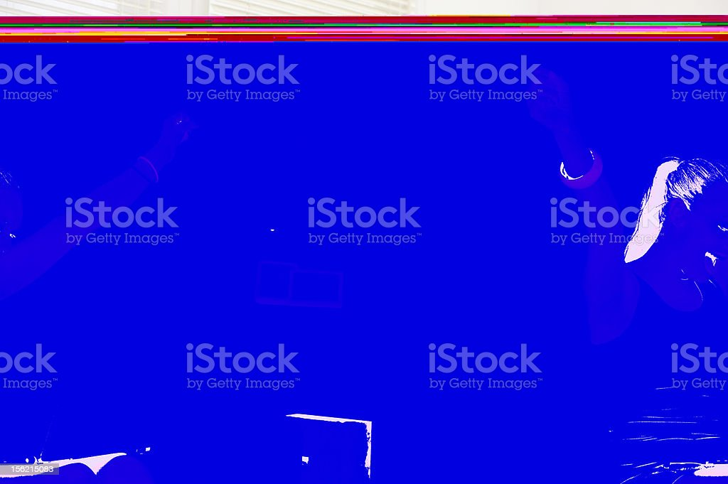 happy young attractive woman and note book royalty-free stock photo