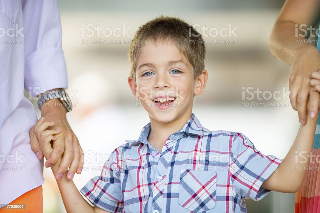 Happy young boy royalty-free stock photo