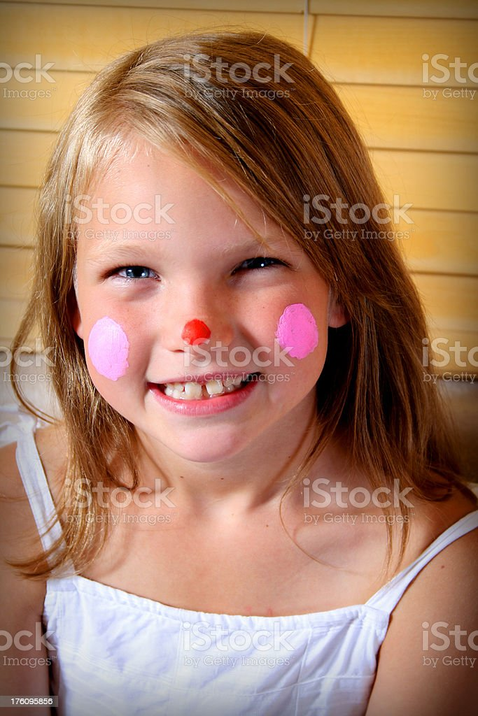 Happy Young Clown royalty-free stock photo