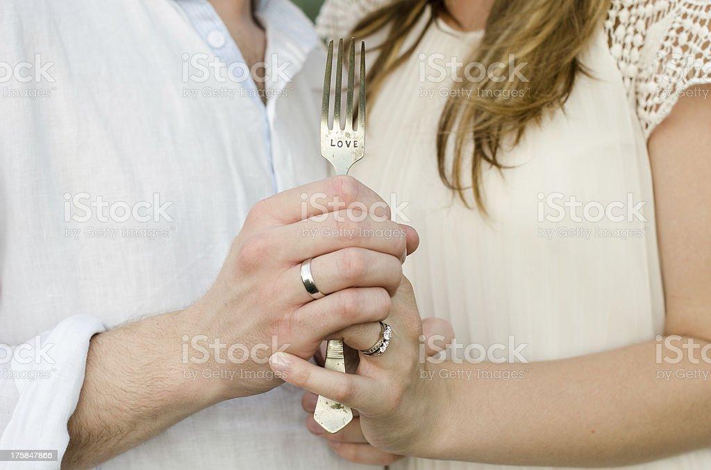 Happy young couple having fun, love concept stock photo