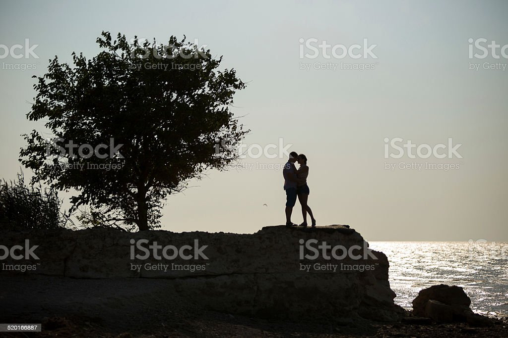 Happy young couple. royalty-free stock photo