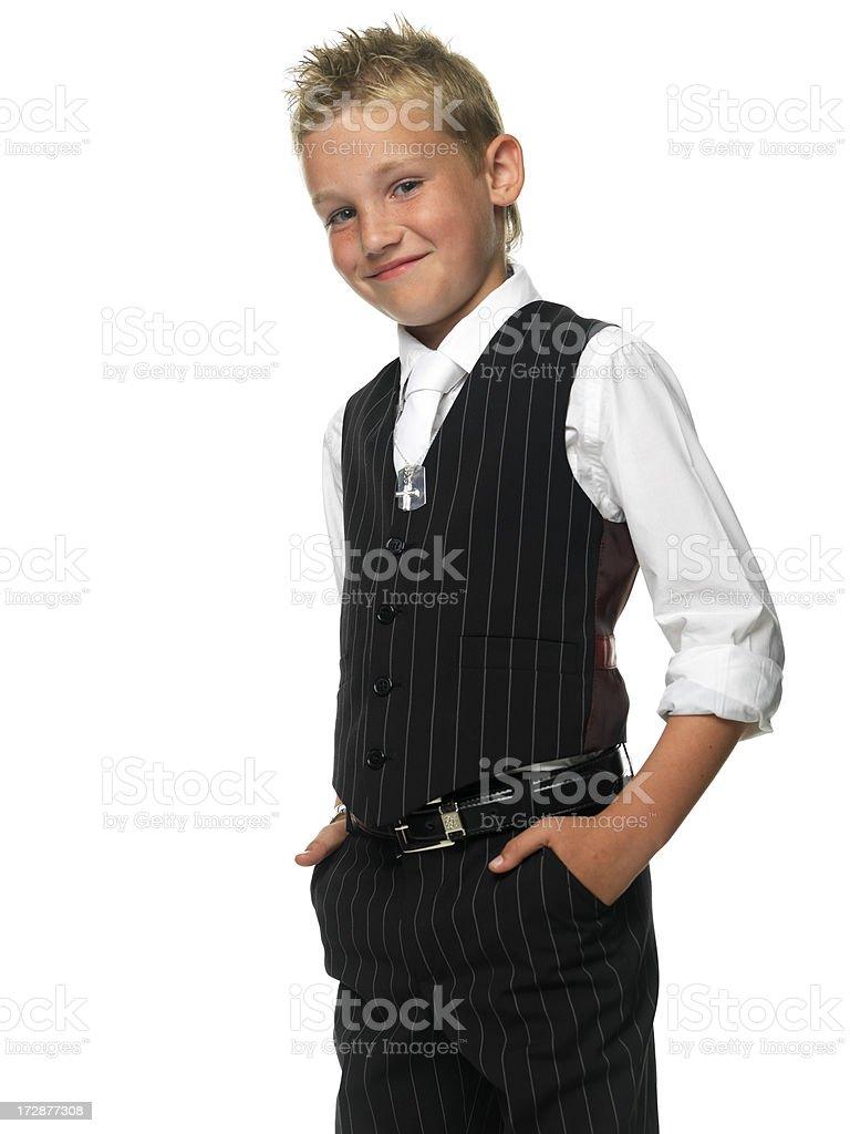 happy young gentleman royalty-free stock photo