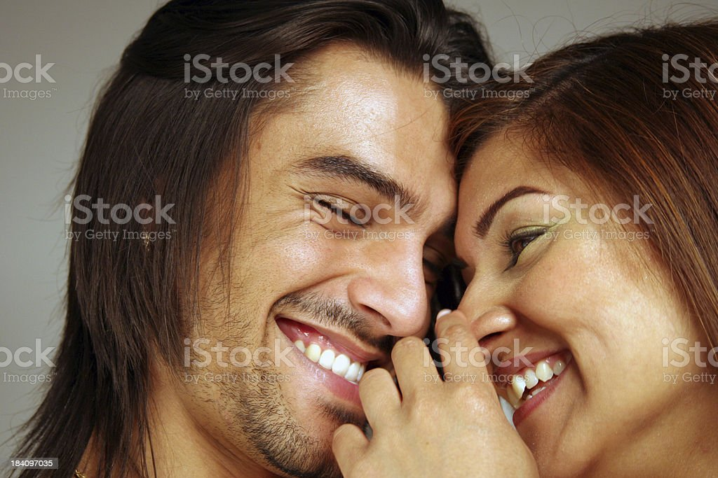 Happy Young Love royalty-free stock photo