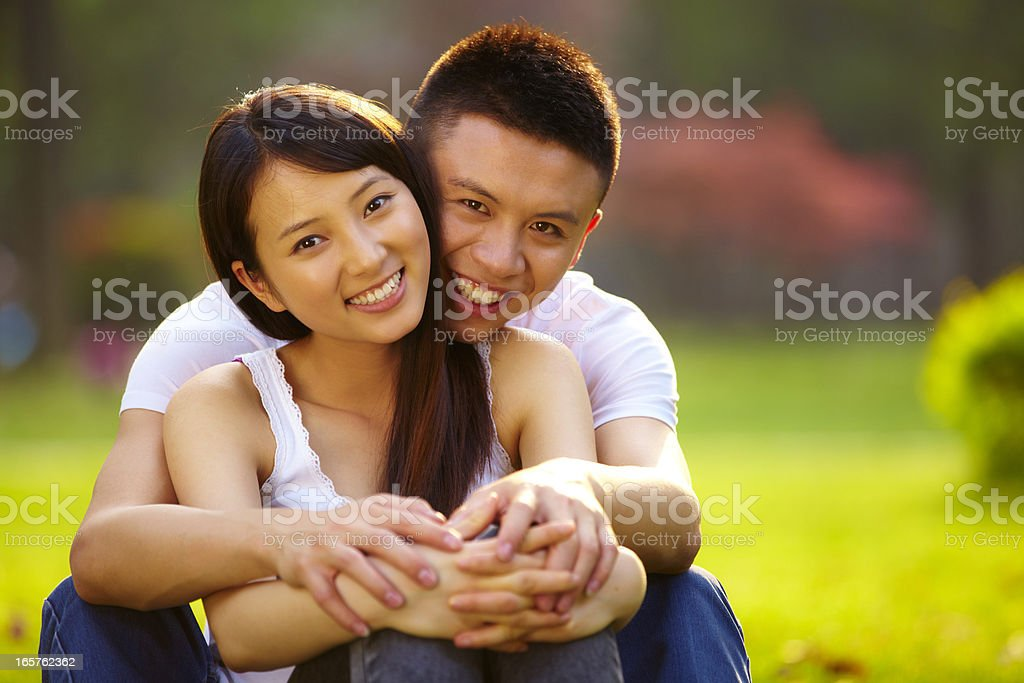 happy young lover royalty-free stock photo