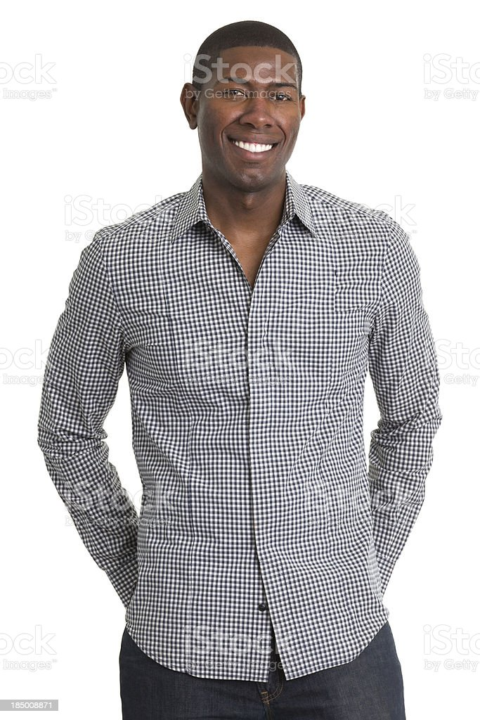 Happy Young Male Portrait royalty-free stock photo