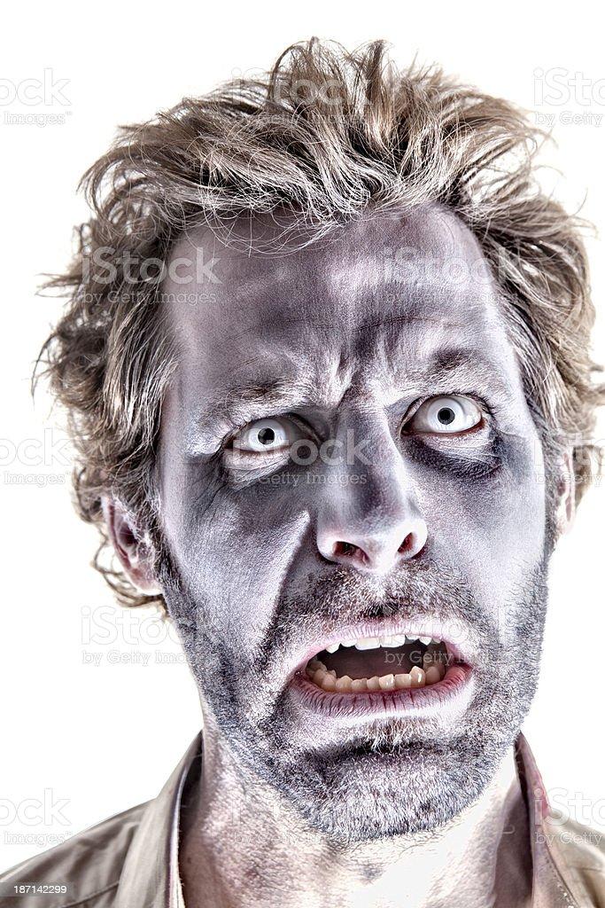 Happy Zombie stock photo